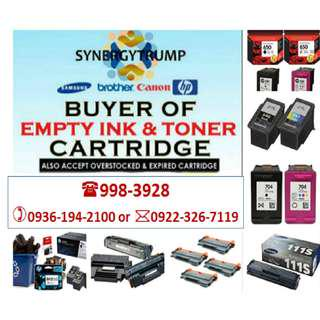 Trusted Company Buyer of Empty Ink Cartridges and Toner