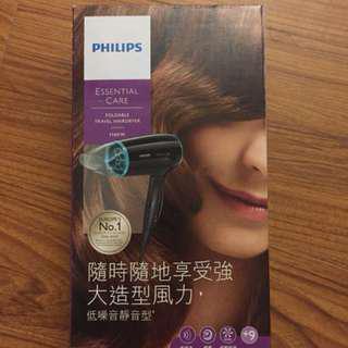 Philips 旅用吹風機 國際電壓110/220w