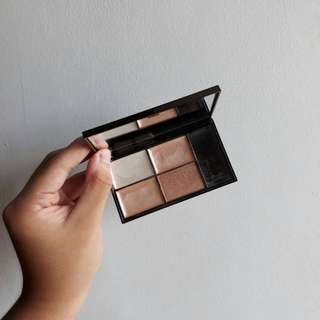 Sleek Highlighting Palette in Precious Metals