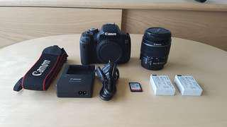 (A) Canon 650D with EFS 18-55mm IS II