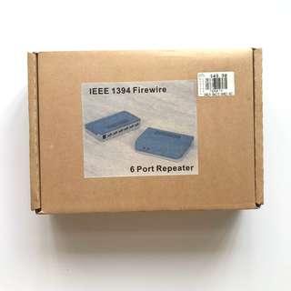 Firewire 400 (IEEE 1394) 6 Port Hub Repeater