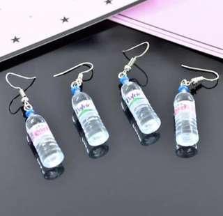 Waterbottle earrings