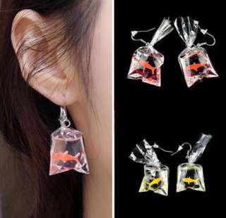Cute fish earrings