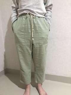 Et Cetera Pants Green Hijau Celana