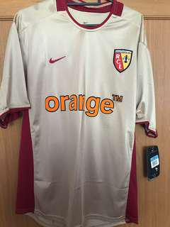 BRAND NEW WITH TAGS RC LENS SOCCER JERSEYS SIZE M