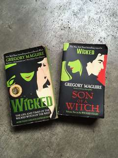 Wicked and Son of a Witch (Bundle)