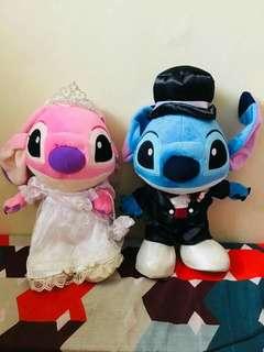 Stitch and angel wedding