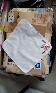 鋼之鍊金術師  愛德華 豆丁 矮仔 牛奶樽紙盒 + 方形手巾