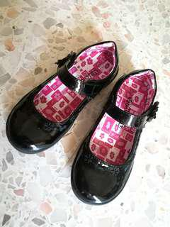 Girl Black Shoes
