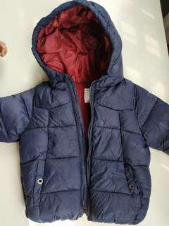 Winter Jacket Coat Zara for kids budak