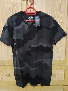 Hollister Black Camo T-Shirt
