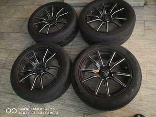 Toyota Wellfire 18 inches Rims and Tyres