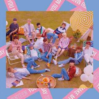 [MY GO] SEVENTEEN 5th Mini Album 'You Make My Day' Set the Sun Version Taiwan Limited Edition
