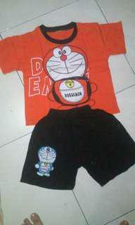 Baju Doraemon