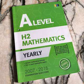 ALevel H2 Math Yearly TYS