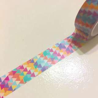 Abstract Mosaic washi tape