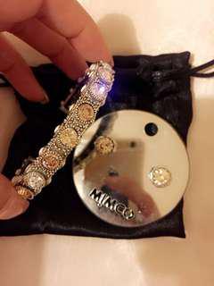 Mimco bangle and earring set