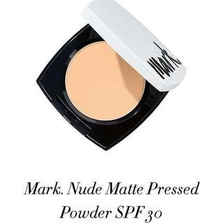 Avon Mark Nude Matte Pressed Powder