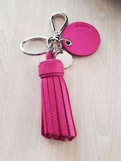 Mimco Panache Pink Keyring
