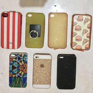 iPhone 4/4s Cases (take all)