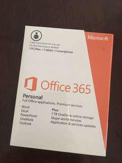 Microsoft Office 365 sealed