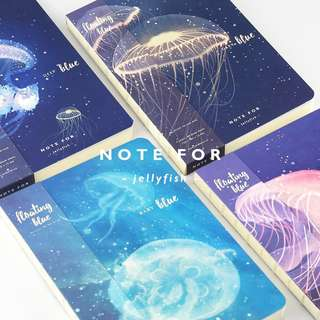 Jellyfish Blank Notebooks