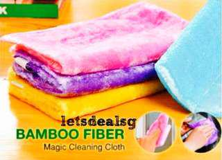 🚚 ⚡Special Offer⚡ Bamboo Fiber Magic Cleaning Cloth