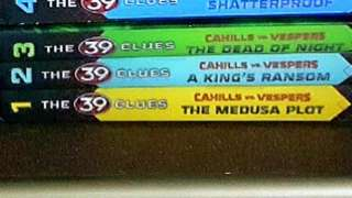REPRICED 39 Clues: Cahills vs. Vespers Series bks 1-3 (first 3 hard bound books)