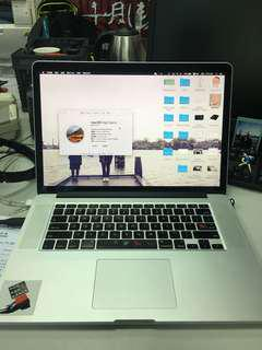"功能正常客製16GB Ram 15""MacBook Pro Retina(Mid 2012)"
