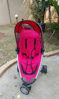 Red Quinny zapp stroller