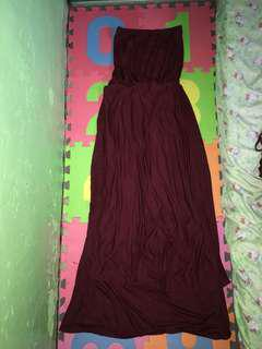 Infinity dress Maroon