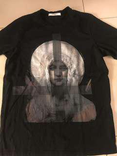 Authentic  original Givenchy Madonna printed t shirt