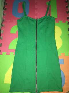 H&M Divided Green Bodycon
