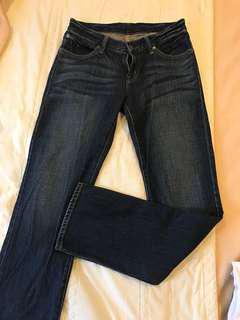 🚚 MUJI 女 牛仔褲 (64cm)