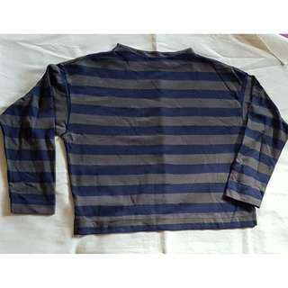 Uniqlo Striped long sleeeves