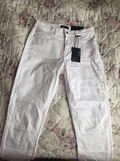 BNWT- White Skinny Jeans