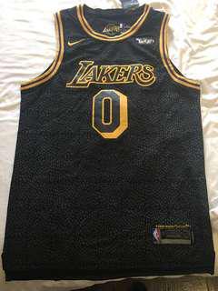 (Grade Triple A) L.A. Lakers Jerry (#0 Kuzma)