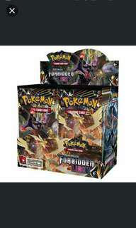 Pokemon Sun & Moon Forbidden Light (Per box 36 pack)