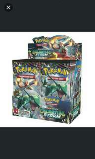 Pokemon Sun/Moon Celestial Storm (Per box 36 Pack)