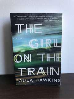 The Girl On The Train by Paula Hawkins (big)
