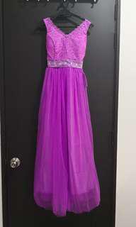 Purple Dinner Dress/Gown