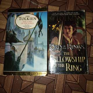 The Lord of the Rings by J.R.R. Tolkien Individual or Bundle Sale