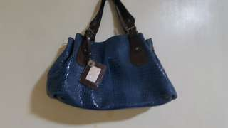 Fashion bag/ crocodile skin