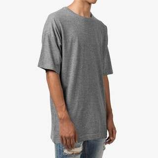 Grey Oversized Boxy Tshirt Size L & XL