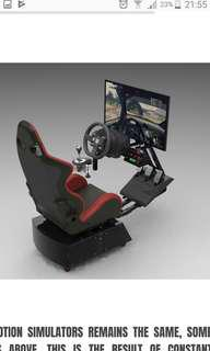 Vector GTL V2 Car Racing Motion Simulator