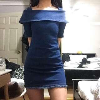 DENIM DOLL DRESS 🦋