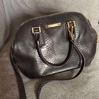 MC croco handbag