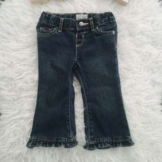 Ruffle Flare Jeans TcP next mothecare gap