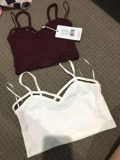 Crop top(RED IS SOLD)
