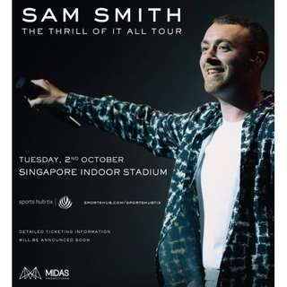 TRADE Sam Smith The Thrill of it All
